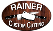 Rainer Custom Cutting Logo